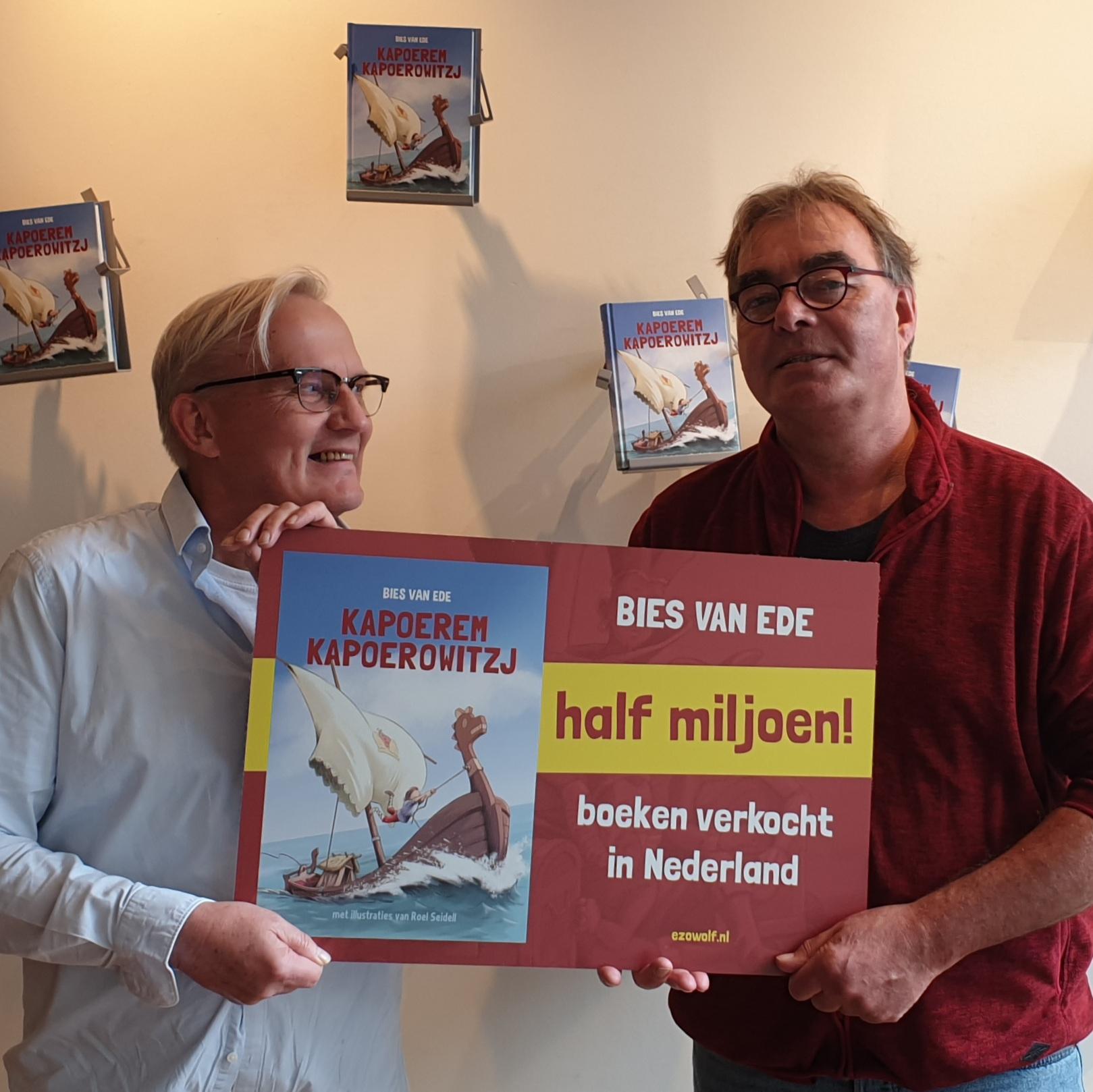 Bies van Ede half miljoen boeken verkocht