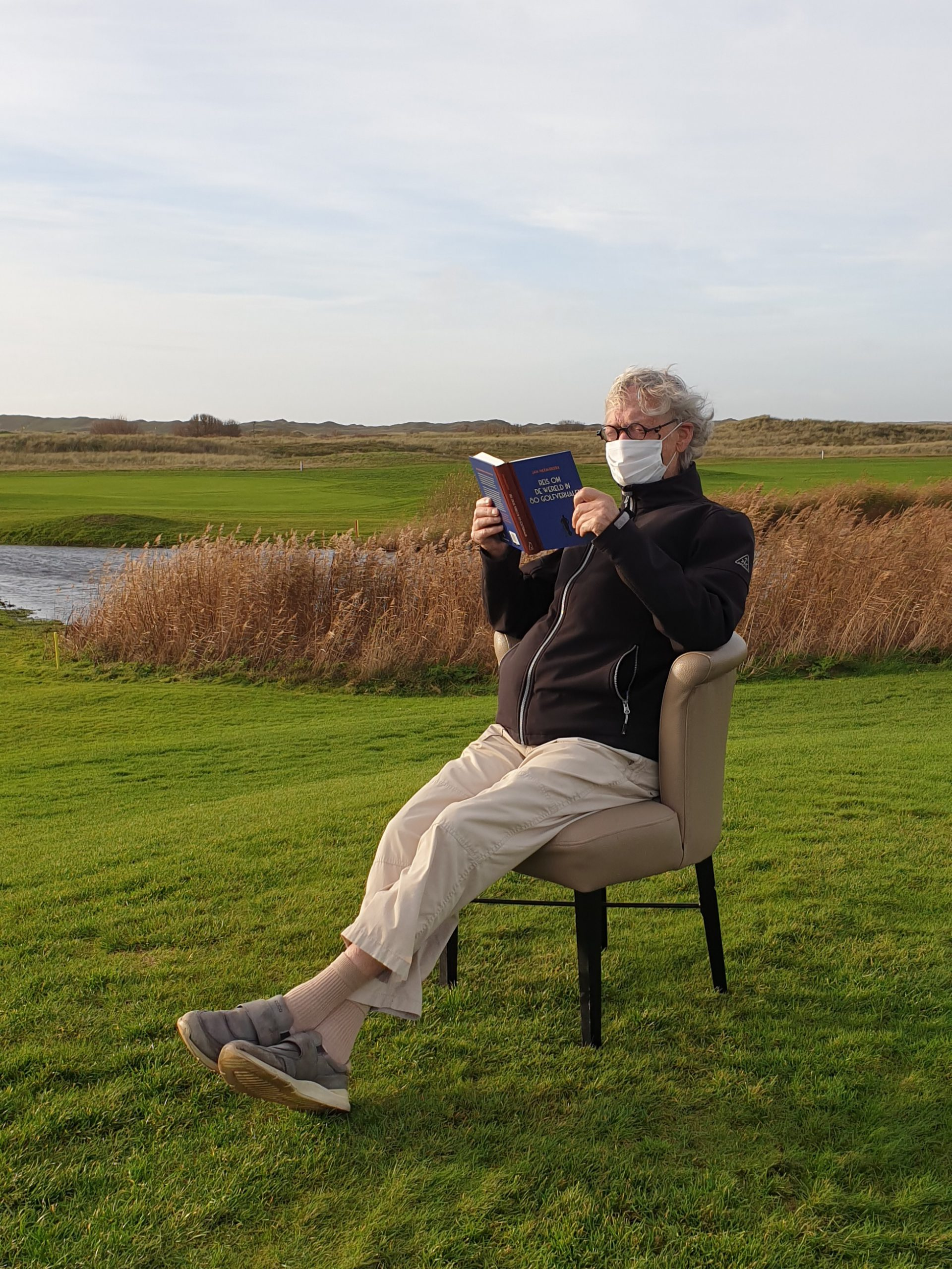 Golfboek Jan Heemskerk