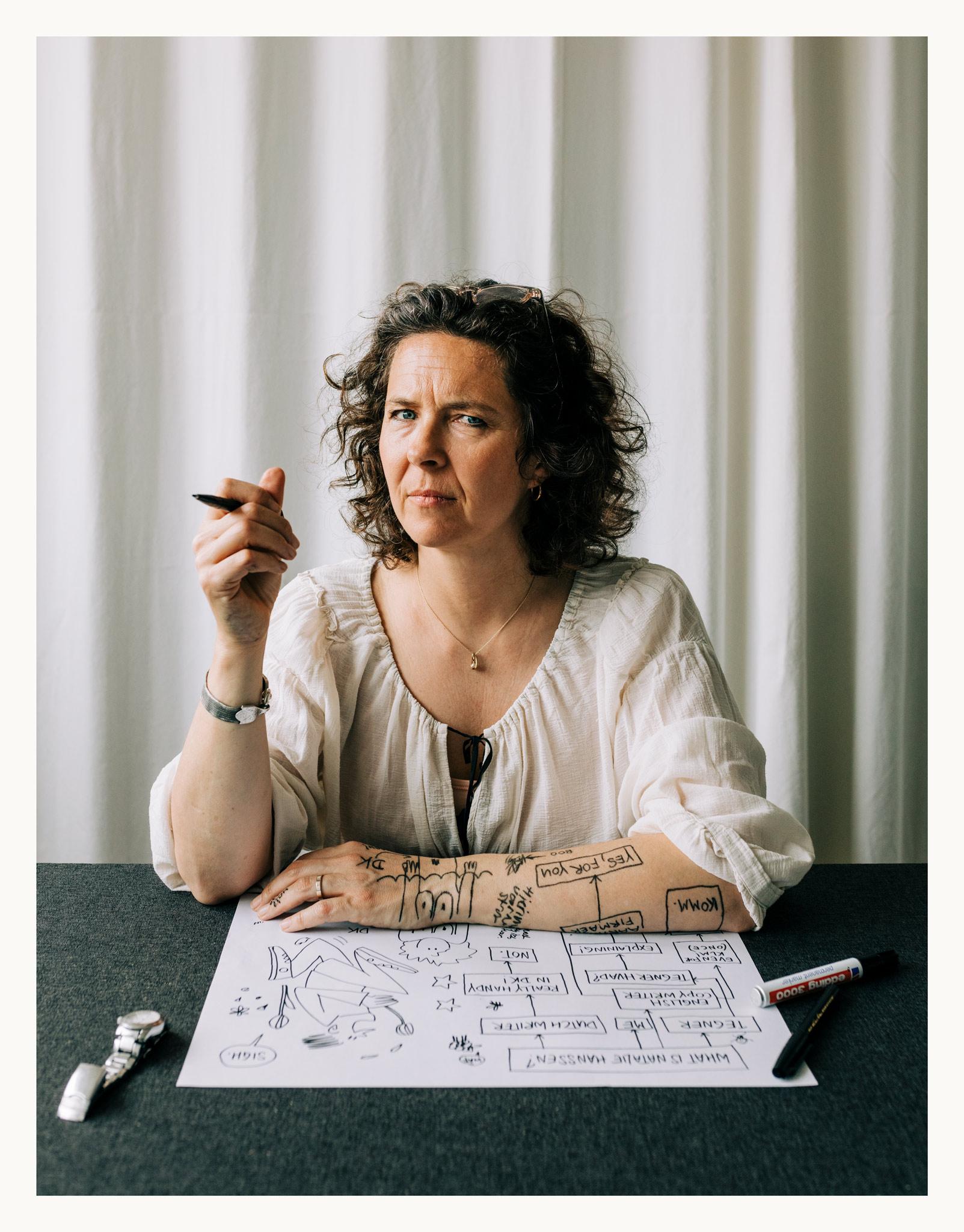 Natalie Hanssen tekent bij Ezo Wolf